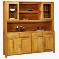 Sideboard+top section SILKEBORG 4 doors