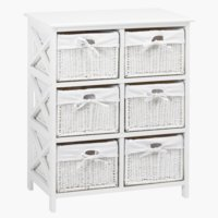 6-basket chest OURE white