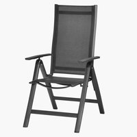 Recliner chair LOMMA black