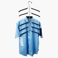 Vješalice BJARKE za 6 košulja