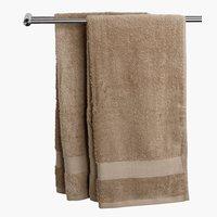 Guest towel KARLSTAD beige KRONBORG