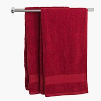 Bath sheet KARLSTAD 100x150 red
