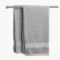Bath towel KARLSTAD light grey KRONBORG