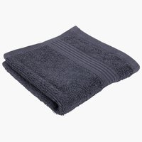 Face cloth KARLSTAD dark grey