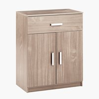 1 drawer 2 door chest KABDRUP combi oak