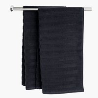 Bath towel TORSBY black