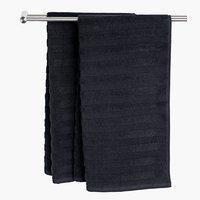 Badehåndklæde TORSBY sort