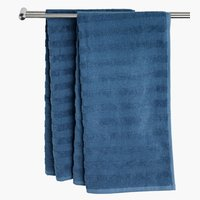 Bath sheet TORSBY 100x150 blue