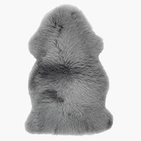 Piel de cordero KEJSERLIND 50x85 gris
