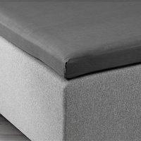 Overmadrasslaken 150x200x6-10 grå