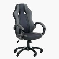Gaming stolica AGGESTRUP siva/crna