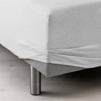 Cearsaf elastic 180x200x40cm alb