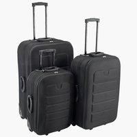 Bőrönd MATTIAS sz17xh33xma55 cm fekete