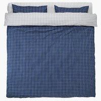 Спално бельо с чаршаф KARIN DBL синьо