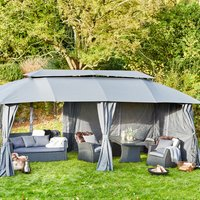 Gazebo SANKT HANS W300xL600 grey