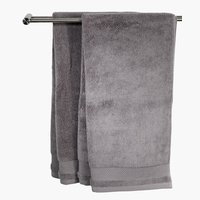 Guest towel NORA 40x60 grey