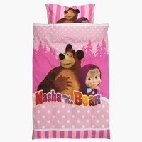 Set N+J MASHA AND THE BEAR 140x200
