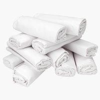 Drap 180x290cm blanc