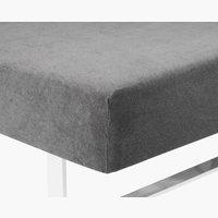 Frottélagen 90x200/210x45cm grå