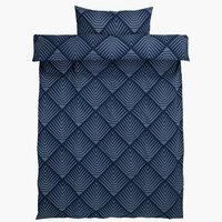 Duvet cover NOVA SGL blue