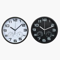 Wall clock SEJER D25cm assorted