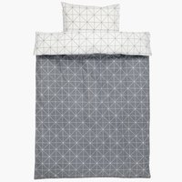 Duvet cover ATLA SGL grey
