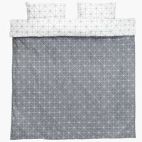 Duvet cover ATLA KNG grey