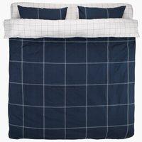 Lenjerie pat+cearsaf PAMELA dublă