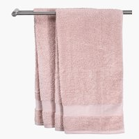 Полотенце KARLSTAD 100x150см розовый