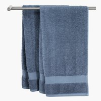Bath towel KARLSTAD 70x140 dusty blue