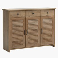 Sideboard MANDERUP 3doors 3draw wild oak