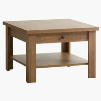 Coffee table MANDERUP 80x80 cm oak