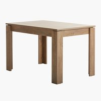 Dining table VEDDE 80x120 wild oak