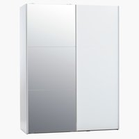 Wardrobe ONSTED 151x201 w/mirror white