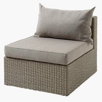 Loungeset BASTRUP middenmodule naturel