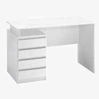 Desk MESINGE 60x118 white