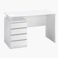 Skrivebord MESINGE 60x118 hvid