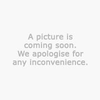 Voksdug 140cm hvid m/flag