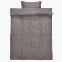 Bedding set KATJA SGL grey