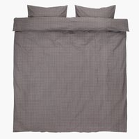 Duvet cover KATJA KNG grey