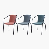 Stacking chair HORNSLET assorted