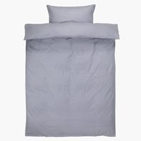 Duvet cover FREJA Flannel SGL purple