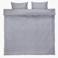 Duvet cover FREJA Flannel KNG l.purple