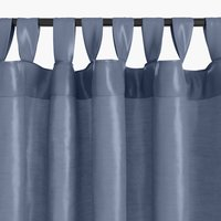 Curtain LUPIN 1x140x245 silk-look blue