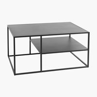 Coffee table VIRUM 60x90 w/s black