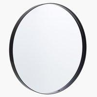 Spiegel MARSTAL Ø50 zwart