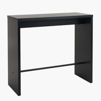 Bar table BROHAVE 50x120 cm black