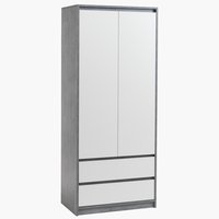 Wardrobe BILLUND 80x192 cm