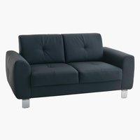 Sofa DAMHALE 2-pers. sort