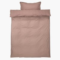 Duvet cover CHRISTEL Percale 140x200
